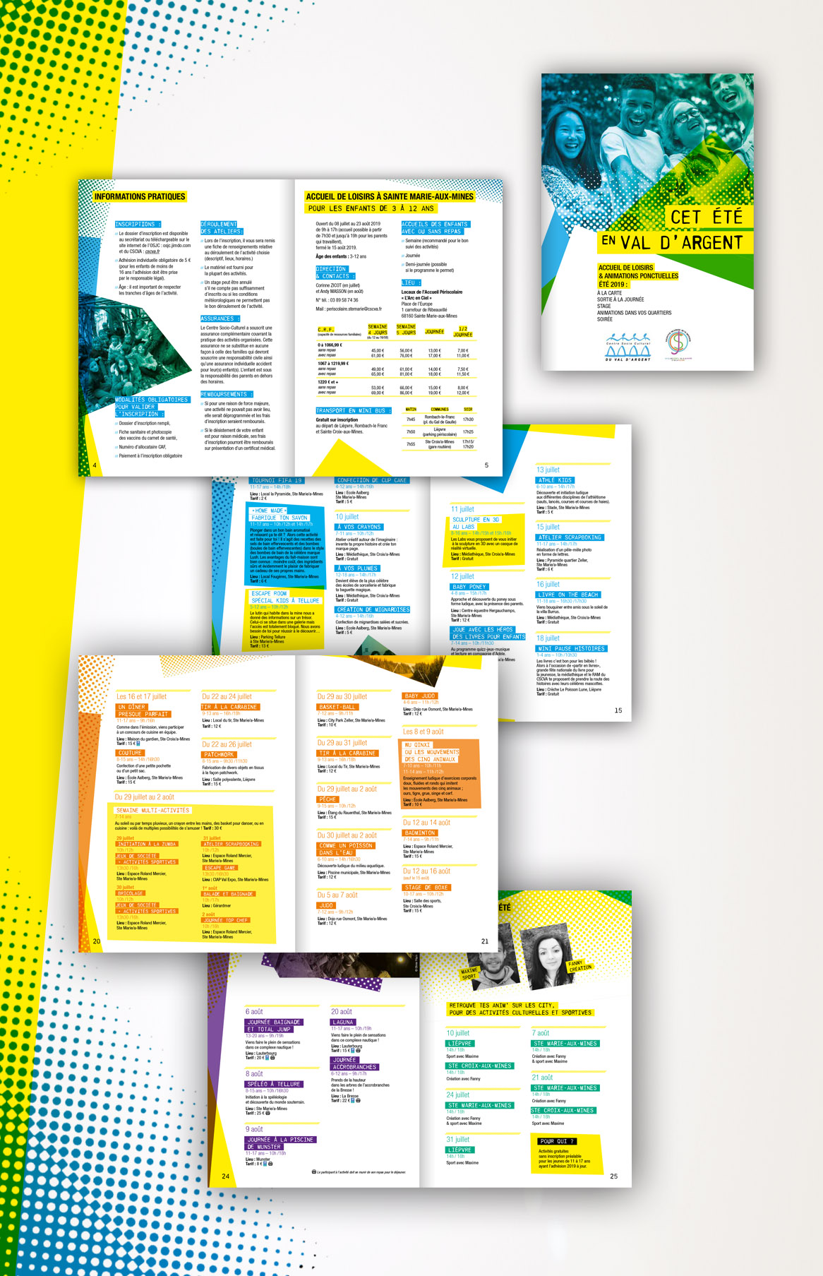 Brochure animations été CSCVA OSJC