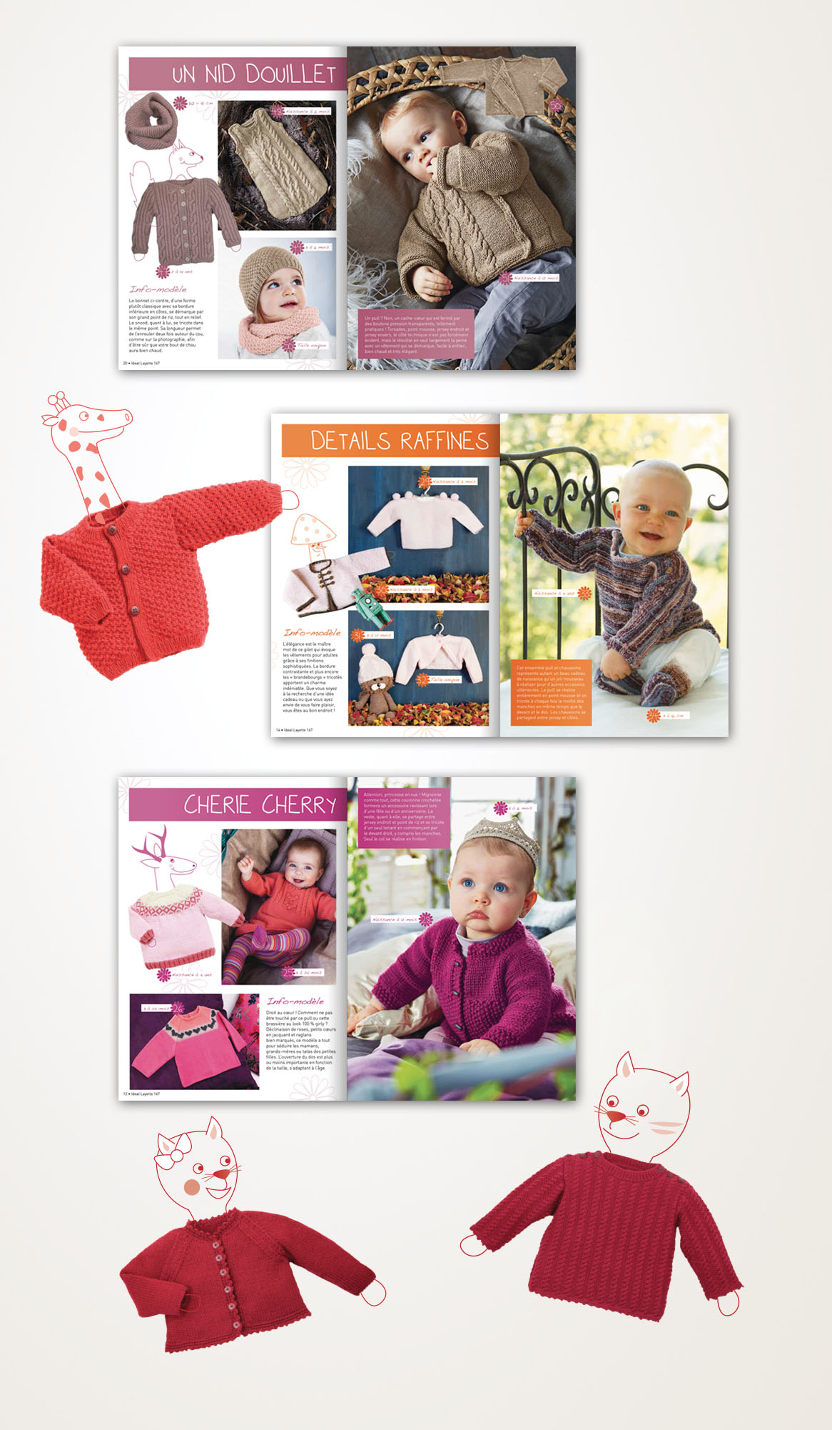 Magazine Ideal Layette Editions de la Rose