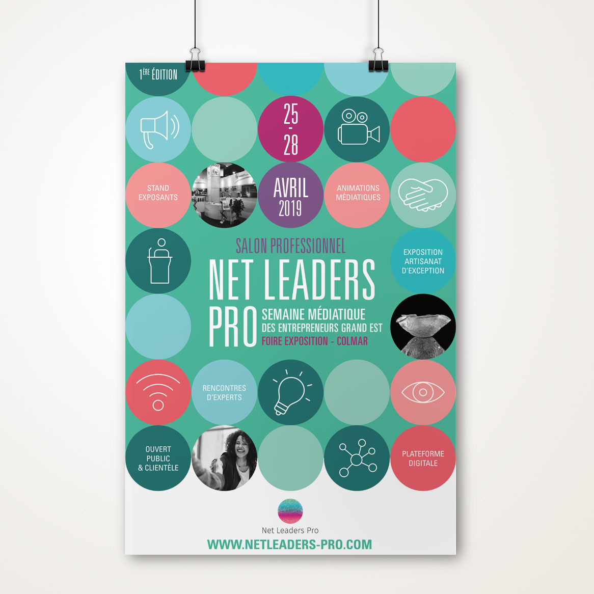 Affiche salon Net Leaders Pro 2019